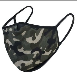 Other - Any 2 $25, 3 Ply USA Made NEW Camo Face mask